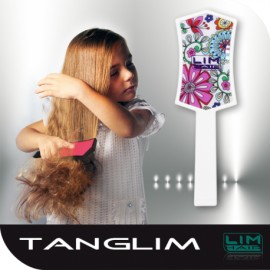 Lim Hair Cepillo Tanglim Flowers