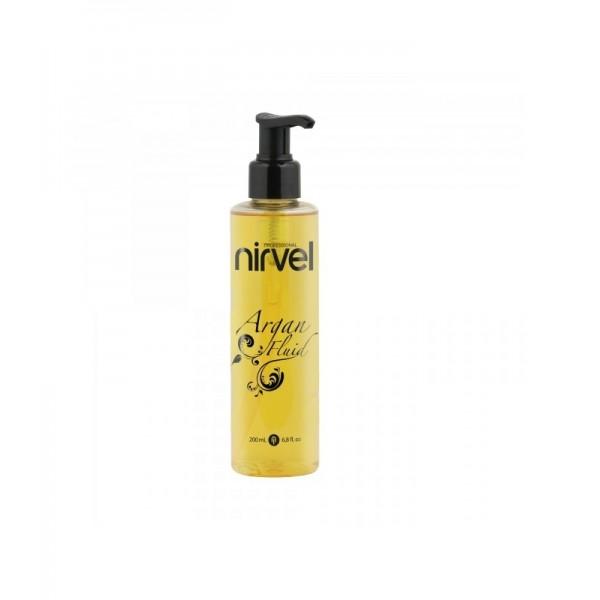 rgán Fluid de Nirvel, combinación de tres aceites que aporta brillo espectacular, sedosidad y tratamiento.